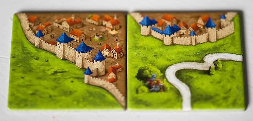 Wrong tile placement in Carcassonne