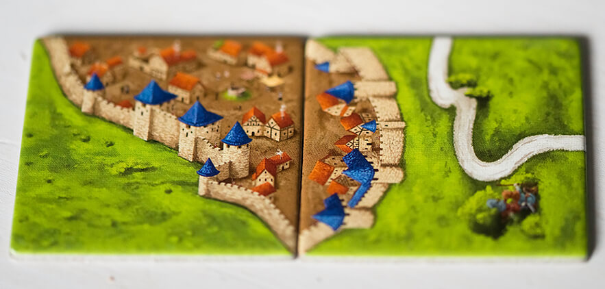 Correct tile placement in Carcassonne